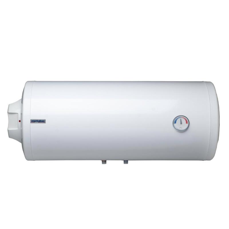 Metalac bojler Horizontalni 80l sa emajliranim kazanom - levi