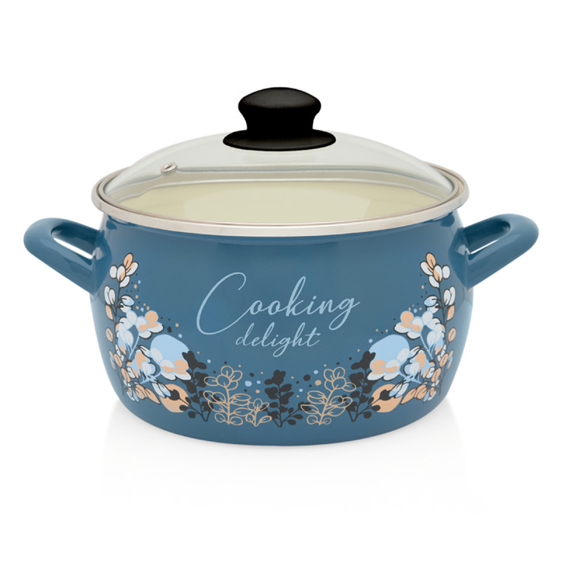 Metalac duboka šerpa BLUE COOKING DELIGHT 24cm/7,9lit