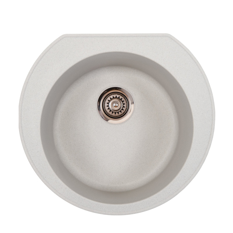 Metalac granitna usadna sudopera xOmega E520 siva Ø90