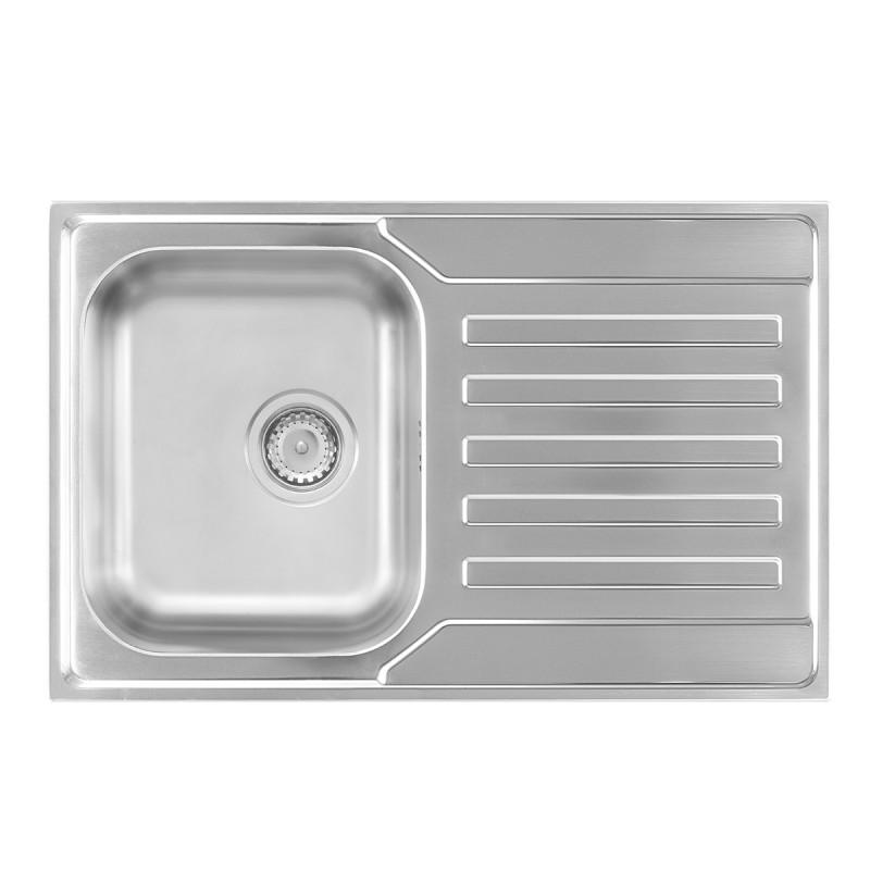 Metalac inox usadna sudopera Nera Praktik 1D ø90