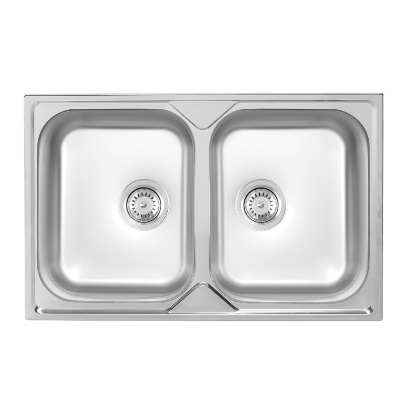 Metalac inox usadna sudopera Nera Praktik 2D Ø90