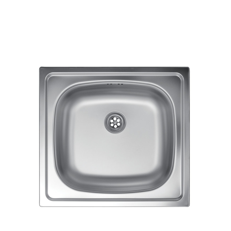 Metalac inox usadna sudopera Quadro ø60