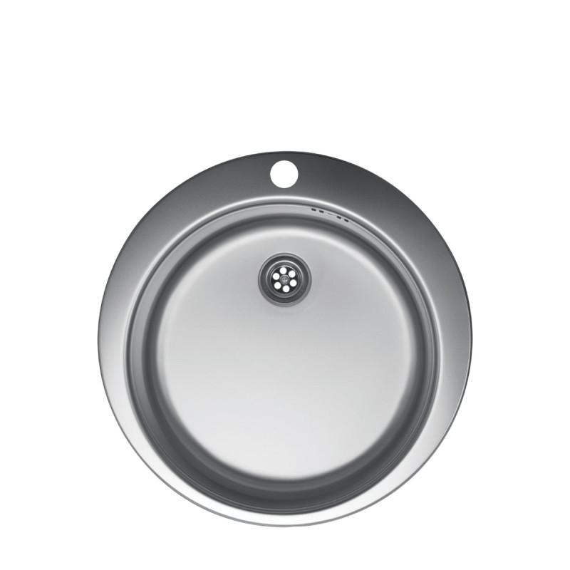 Metalac inox usadna sudopera Venera E480 B sifon ø60