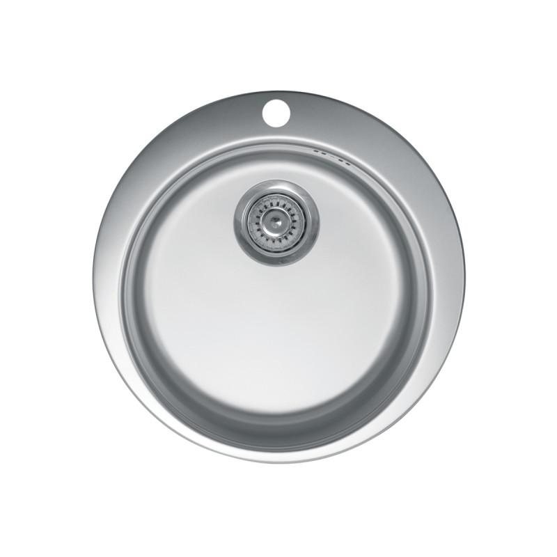 Metalac inox usadna sudopera Venera E480 sifon ø90