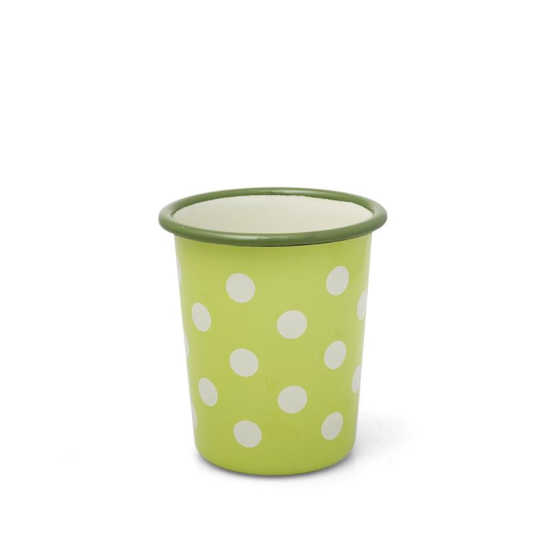 Metalac čaša ZELENE TUFNICE 8cm