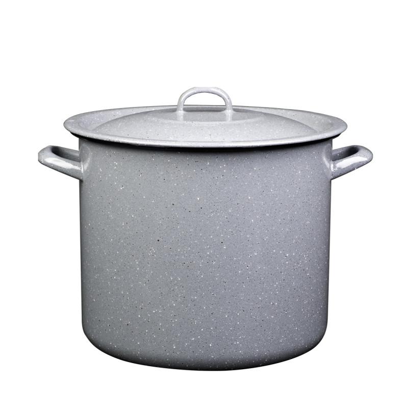 Metalac lonac PRSKANO SIVO 36cm/30lit