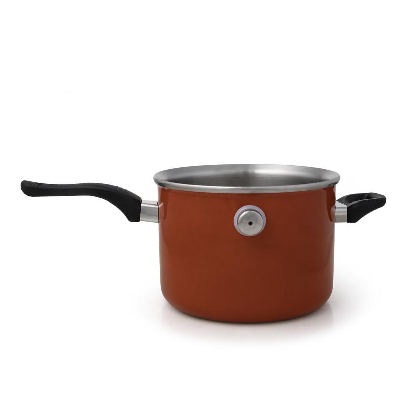 Metalac lonac za kuvanje na pari 3lit