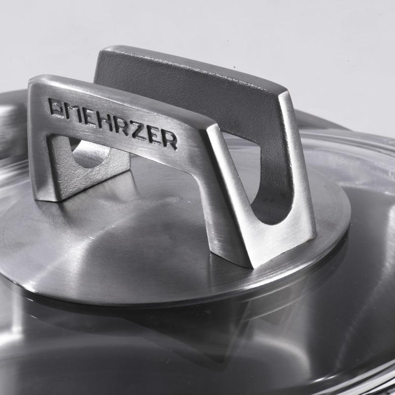 Metalac plitka šerpa MEHRZER 20cm/2,6lit