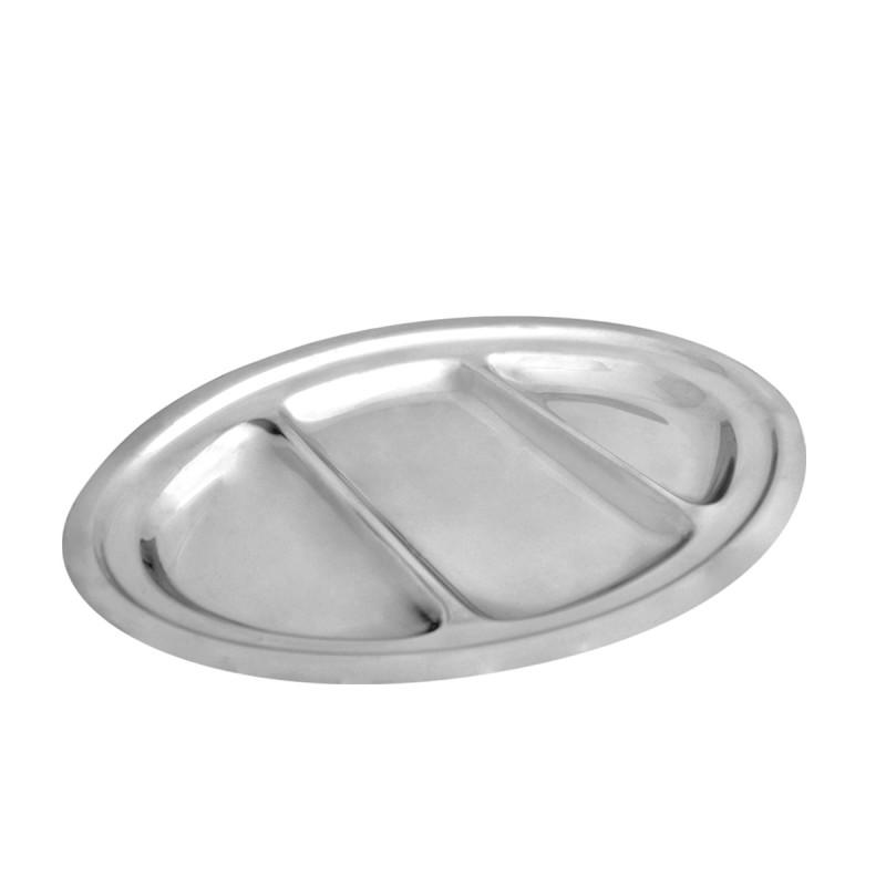Sigma inox oval PL 34cm