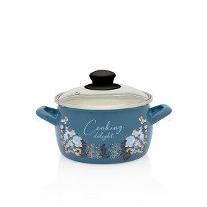 Metalac duboka šerpa BLUE COOKING DELIGHT 16cm/2,4lit