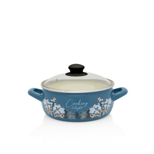 Metalac plitka šerpa BLUE COOKING DELIGHT 16cm/1,6lit