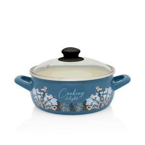 Metalac plitka šerpa BLUE COOKING DELIGHT 20cm/3,1lit