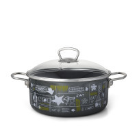 Metalac plitka šerpa FB FOOD 20cm/2,8lit