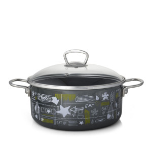 Metalac plitka šerpa FB FOOD 24cm/4,8lit