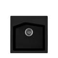 Metalac granitna usadna sudopera xLinea 50 crna 500x500 ø90