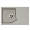 Metalac granitna usadna sudopera xLinea Plus bež 780x500 Ø90