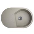 Metalac granitna usadna sudopera xVesta Plus bež 780x500 ø90