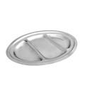 Sigma inox oval sa pregradama 34cm