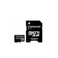 Transcend micro SD 16GB + SD adapter TS16GUSDHC10